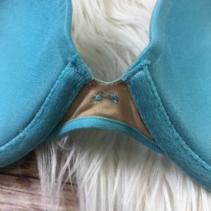 Victoria's Secret Intimates & Sleepwear - Victoria's Secret plunge bra blue size 34C